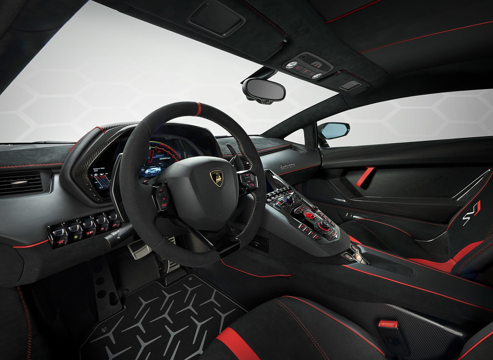 2019 Lamborghini Aventador Svj Interior Wallpaper 177 Hd Wallpapers