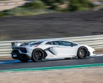2019 Lamborghini Aventador SVJ Rear Three-Quarter Wallpapers 150x120