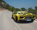 2019 Lamborghini Aventador SVJ Rear Three-Quarter Wallpapers 150x120