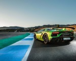 2019 Lamborghini Aventador SVJ Rear Three-Quarter Wallpapers 150x120 (31)
