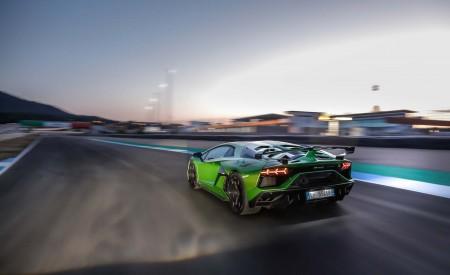 2019 Lamborghini Aventador SVJ Rear Three-Quarter Wallpapers 450x275 (8)