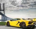 2019 Lamborghini Aventador SVJ Rear Three-Quarter Wallpaper 150x120 (8)