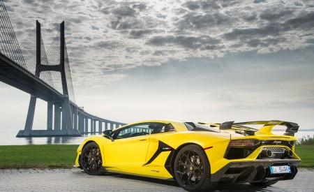 2019 Lamborghini Aventador SVJ Rear Three-Quarter Wallpaper 450x275 (97)