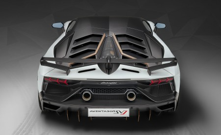 2019 Lamborghini Aventador SVJ Rear Wallpapers 450x275 (176)