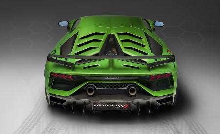2019 Lamborghini Aventador SVJ Rear Wallpapers 450x275 (165)