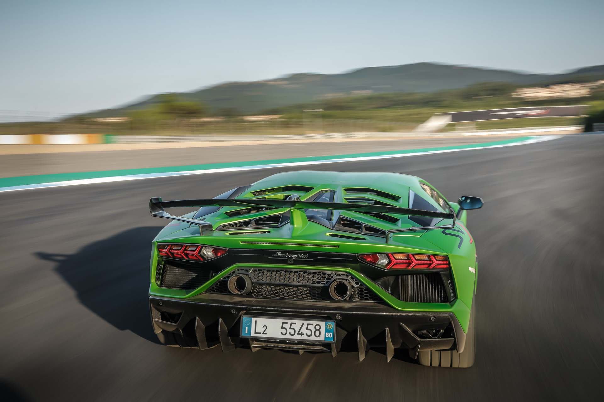 2019 Lamborghini Aventador SVJ Rear Wallpapers #19 of 241