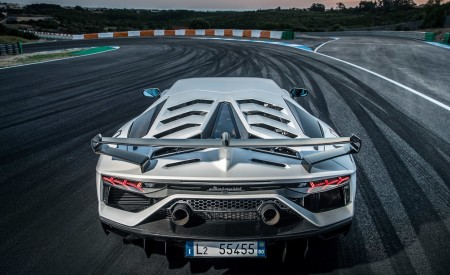 2019 Lamborghini Aventador SVJ Rear Wallpapers 450x275 (234)