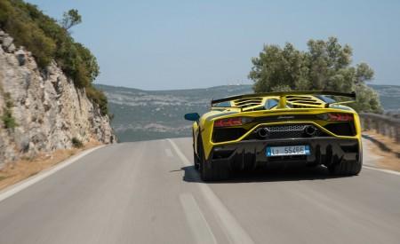 2019 Lamborghini Aventador SVJ Rear Wallpapers 450x275 (211)