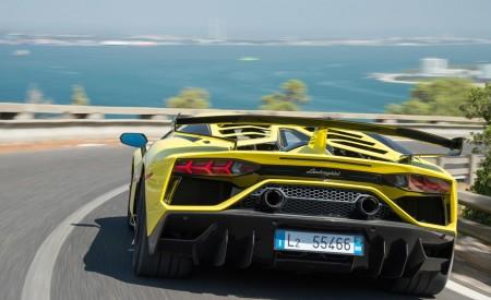 2019 Lamborghini Aventador SVJ Rear Wallpapers 450x275 (204)