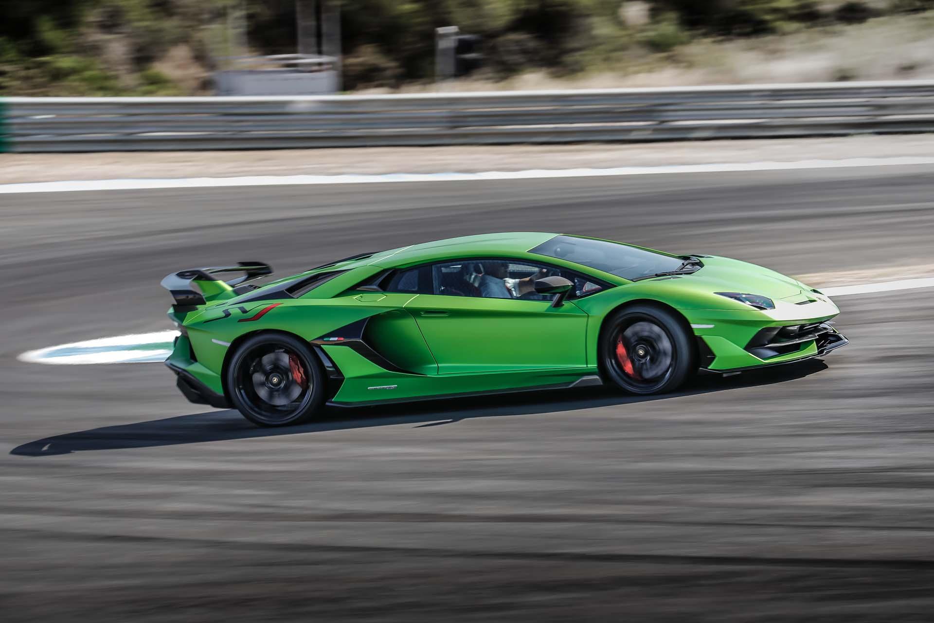 2019 Lamborghini Aventador SVJ Side Wallpapers #17 of 241
