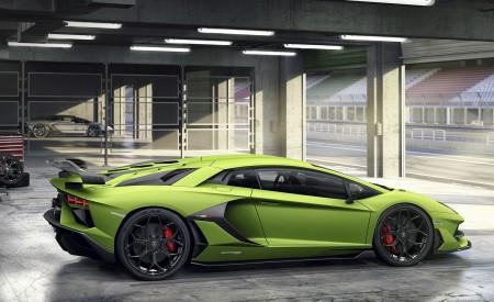 2019 Lamborghini Aventador SVJ Side Wallpaper 450x275 (159)