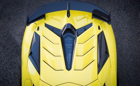 2019 Lamborghini Aventador SVJ Spoiler Wallpapers 450x275 (99)