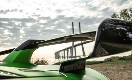2019 Lamborghini Aventador SVJ Spoiler Wallpaper 450x275 (68)
