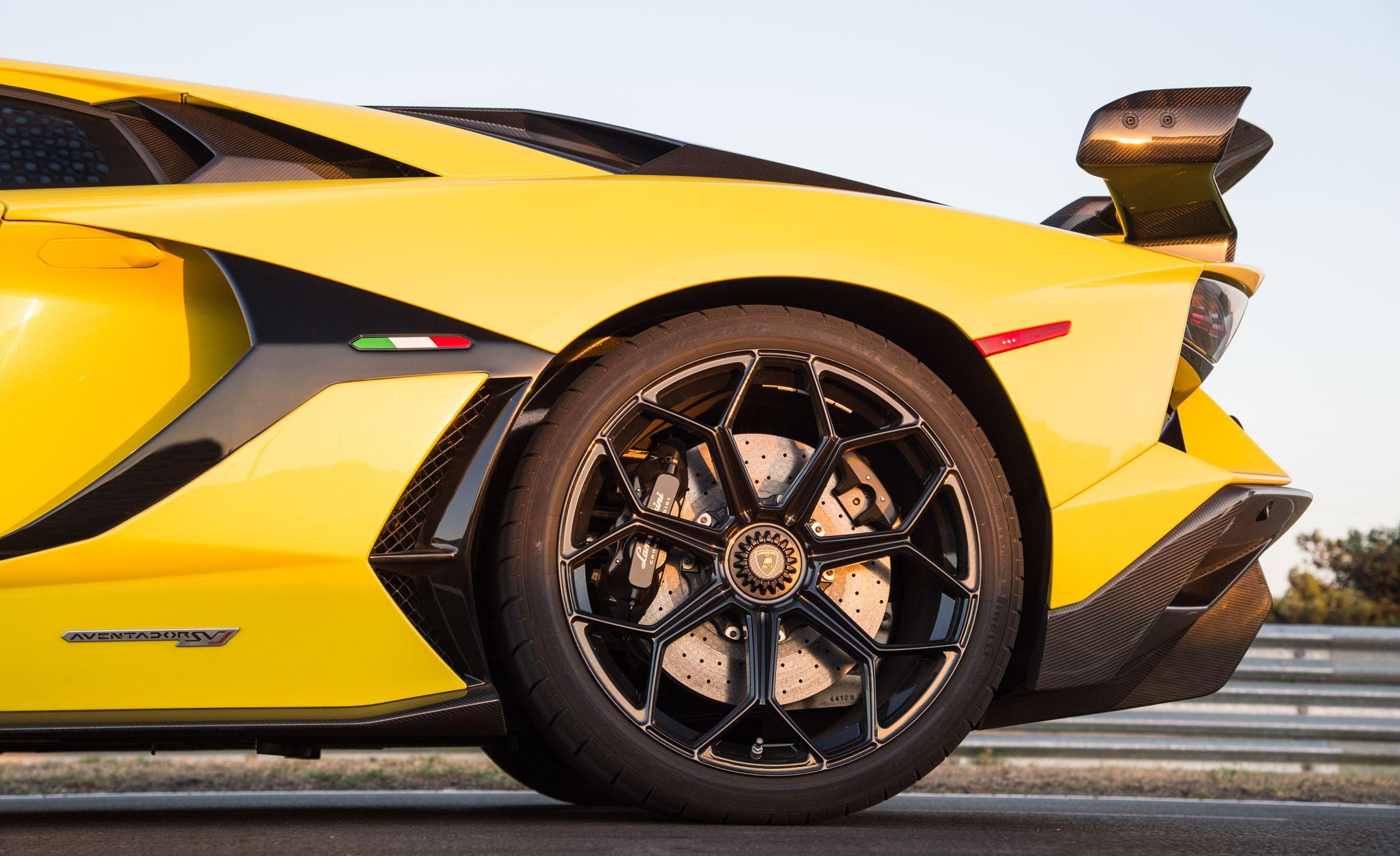 2019 Lamborghini Aventador SVJ Wheel Wallpaper (11)