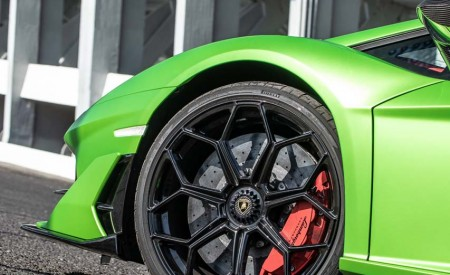 2019 Lamborghini Aventador SVJ Wheel Wallpaper 450x275 (64)