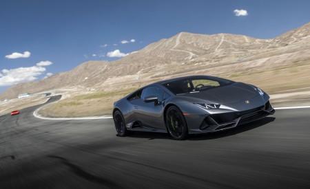 2019 Lamborghini Huracán EVO (Color: Black) Front Three-Quarter Wallpapers 450x275 (22)