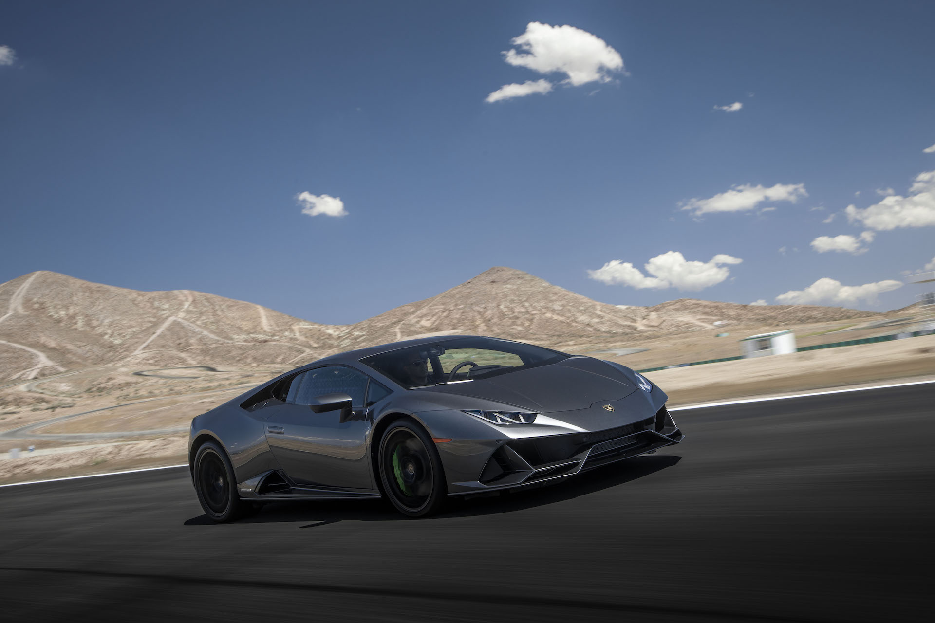 2019 Lamborghini Huracán EVO (Color: Black) Front Three-Quarter Wallpapers (6)