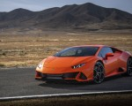 2019 Lamborghini Huracán EVO (Color: Orange) Front Three-Quarter Wallpapers 150x120 (31)