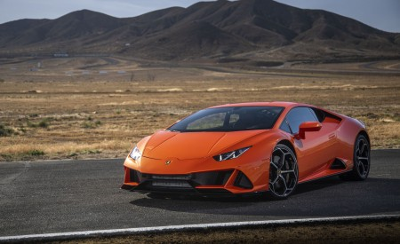 2019 Lamborghini Huracán EVO (Color: Orange) Front Three-Quarter Wallpapers 450x275 (31)