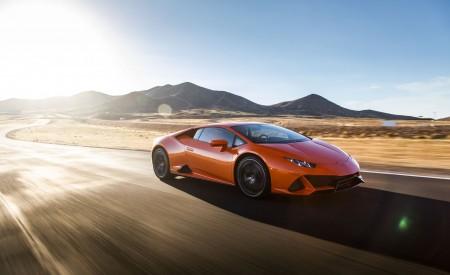 2019 Lamborghini Huracán EVO (Color: Orange) Front Three-Quarter Wallpapers 450x275 (20)