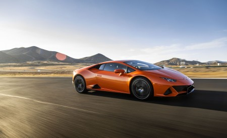 2019 Lamborghini Huracán EVO (Color: Orange) Front Three-Quarter Wallpapers 450x275 (19)