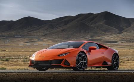 2019 Lamborghini Huracán EVO (Color: Orange) Front Three-Quarter Wallpapers 450x275 (32)