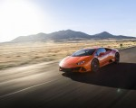 2019 Lamborghini Huracán EVO (Color: Orange) Front Three-Quarter Wallpapers 150x120 (18)