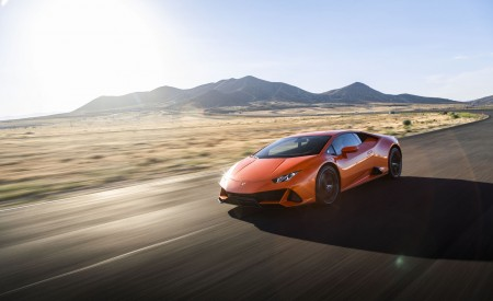 2019 Lamborghini Huracán EVO (Color: Orange) Front Three-Quarter Wallpapers 450x275 (18)
