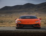 2019 Lamborghini Huracán EVO (Color: Orange) Front Wallpapers 150x120 (33)