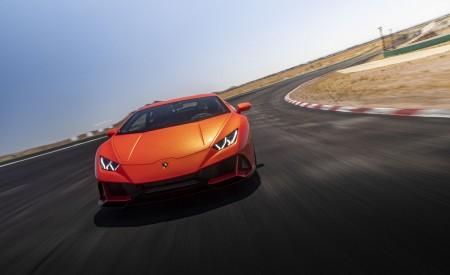 2019 Lamborghini Huracán EVO (Color: Orange) Front Wallpapers 450x275 (4)