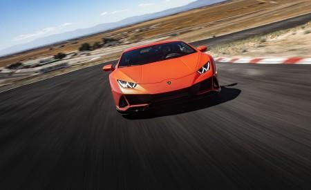 2019 Lamborghini Huracán EVO (Color: Orange) Front Wallpapers 450x275 (3)