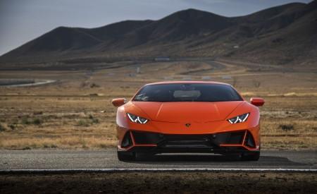 2019 Lamborghini Huracán EVO (Color: Orange) Front Wallpapers 450x275 (33)
