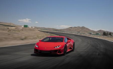 2019 Lamborghini Huracán EVO (Color: Orange) Front Wallpapers 450x275 (17)