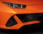 2019 Lamborghini Huracán EVO (Color: Orange) Headlight Wallpapers 150x120 (43)