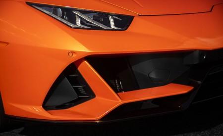 2019 Lamborghini Huracán EVO (Color: Orange) Headlight Wallpapers 450x275 (43)
