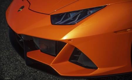 2019 Lamborghini Huracán EVO (Color: Orange) Headlight Wallpapers 450x275 (42)