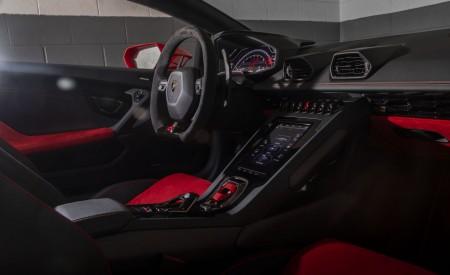 2019 Lamborghini Huracán EVO (Color: Orange) Interior Cockpit Wallpapers 450x275 (63)