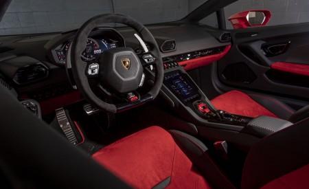 2019 Lamborghini Huracán EVO (Color: Orange) Interior Front Seats Wallpapers 450x275 (56)