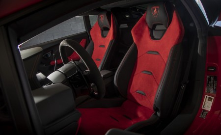 2019 Lamborghini Huracán EVO (Color: Orange) Interior Front Seats Wallpapers 450x275 (55)