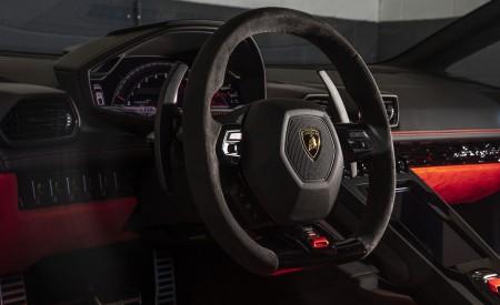 2019 Lamborghini Huracán EVO (Color: Orange) Interior Steering Wheel Wallpapers 450x275 (54)