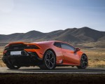 2019 Lamborghini Huracán EVO (Color: Orange) Rear Three-Quarter Wallpapers 150x120 (34)