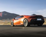 2019 Lamborghini Huracán EVO (Color: Orange) Rear Three-Quarter Wallpapers 150x120 (26)
