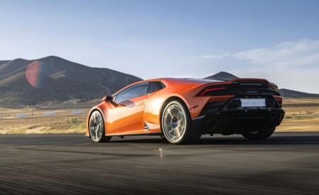 2019 Lamborghini Huracán EVO (Color: Orange) Rear Three-Quarter Wallpapers 450x275 (26)