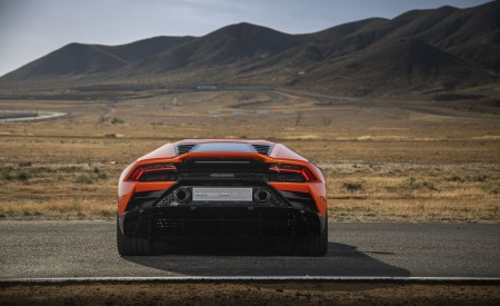 2019 Lamborghini Huracán EVO (Color: Orange) Rear Wallpapers 450x275 (35)