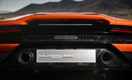 2019 Lamborghini Huracán EVO (Color: Orange) Spoiler Wallpapers 450x275 (41)