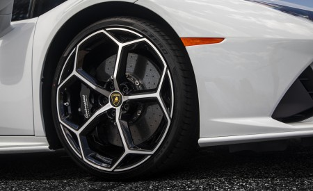 2019 Lamborghini Huracán EVO (Color: White) Wheel Wallpapers 450x275 (37)