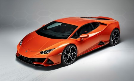 2019 Lamborghini Huracán EVO Front Three-Quarter Wallpapers 450x275 (104)