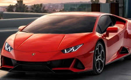 2019 Lamborghini Huracán EVO Front Three-Quarter Wallpapers 450x275 (89)