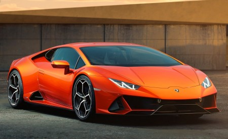 2019 Lamborghini Huracán EVO Front Three-Quarter Wallpapers 450x275 (98)