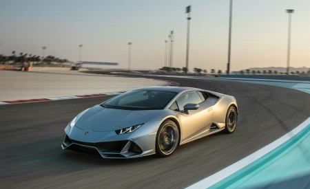 2019 Lamborghini Huracán EVO Front Three-Quarter Wallpapers 450x275 (49)